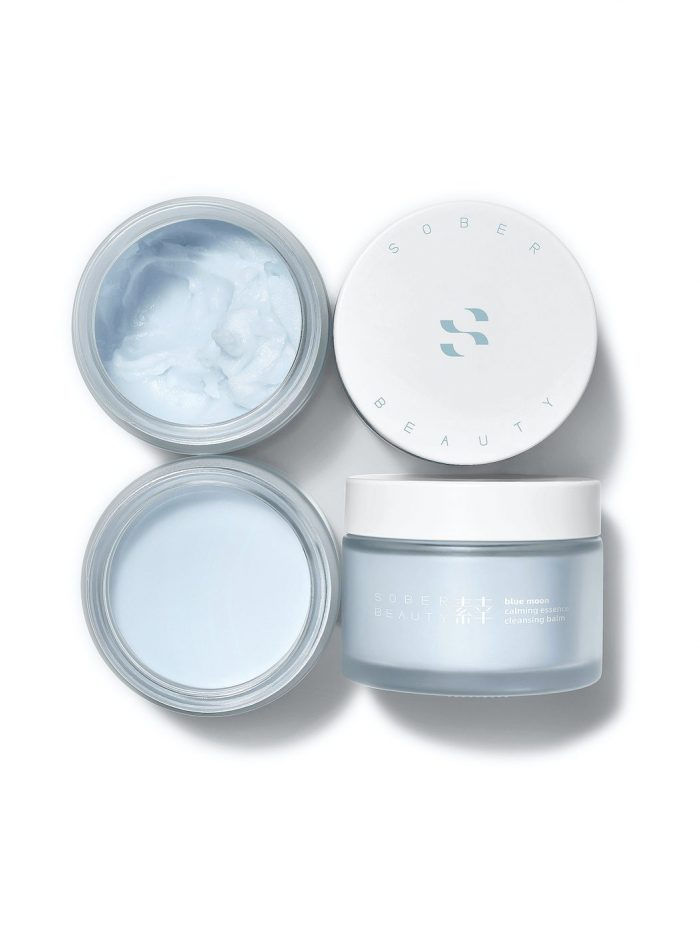 Sober Beauty large (85g) cleansing balm open